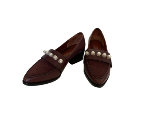 3.1 Phillip Lim Pearls Embellished Loafers
