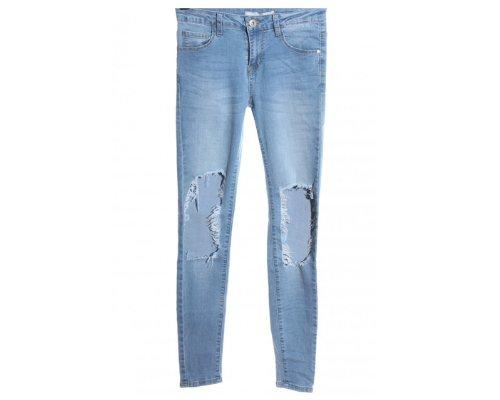7/8-Jeans in Destroyed Optik von Goodies