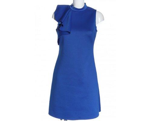 A-Linen Abendklied in Blau mit Ruchen