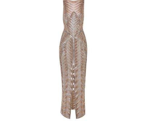 Abendkleid  des Luxuslabels Julien Macdonald.