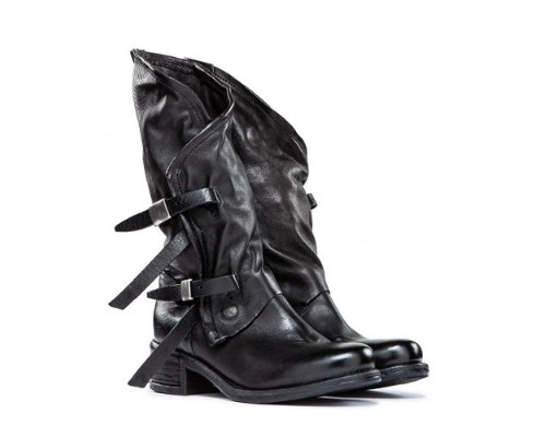 Air Step Lederstiefel