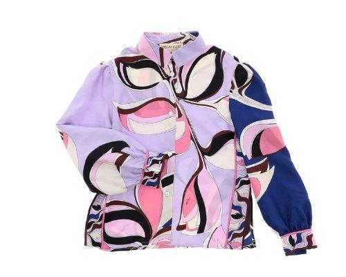 Alloverdruck Hemd Bluse von Emilio Pucci