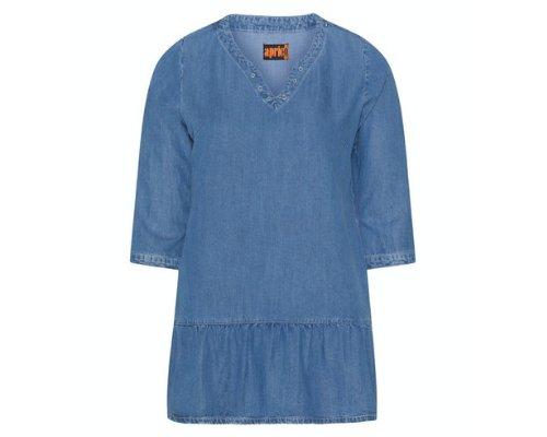 Aprico Tunika-Shirt aus Jeans