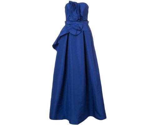 Bandeau Abendklied in Blue von Carolina Herrera