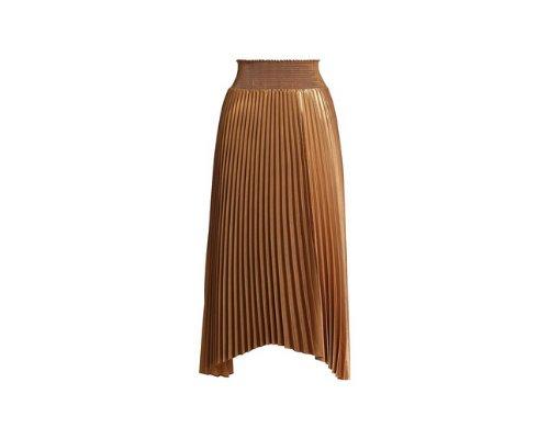 Bell Skirt mit grafischem Printdesign in tannengrün von A.L.C.