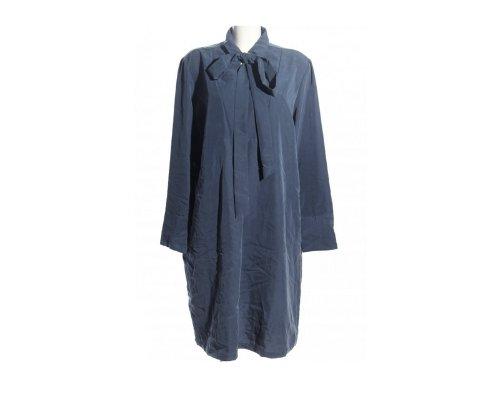 Blau gemustertes Wickelkleid von Van Laack