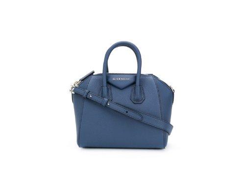 Blaue Givenchy Antigona Handtasche