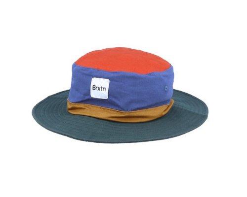 Blauer Full Brim Hut von Brixton