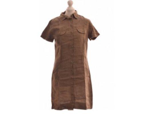 Blümchen-Minikleid mit Lederstiefeln von Armand Thiery