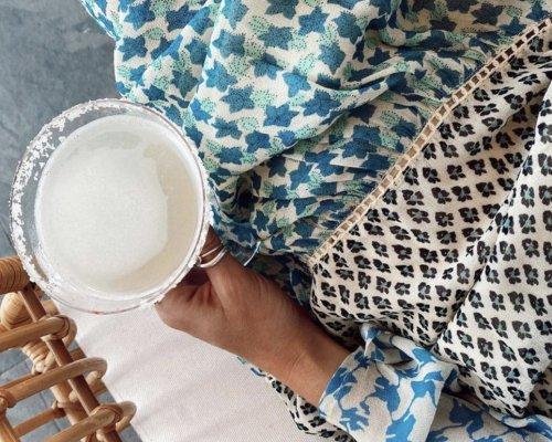 Blumenprint Tunikakleid von Cecilie Copenhagen