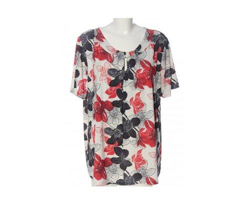 Bluse mit Blumenprint von Fair Lady