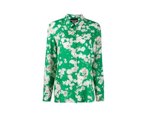 Boutique Moschino Print-Shirt mit Blumendruck