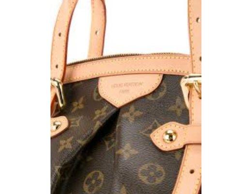 Braun-Beige Louis Vuitton Tivoli Tasche mit LV-Monogram