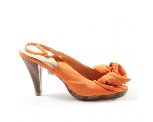 Carolina Boix Peep Toe Slinback Sandals