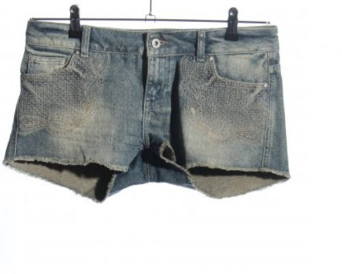 Cars Jeans Shorts im Vintage Look