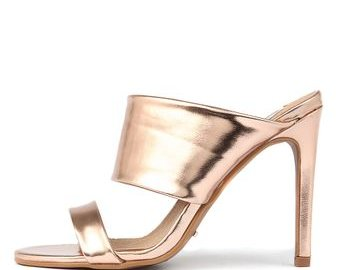 Cavita Sandalette in Metallic Pink