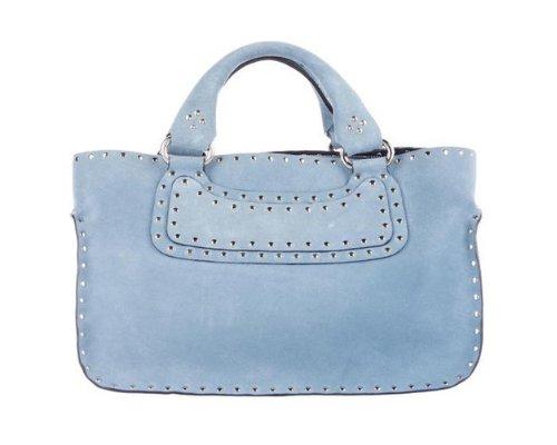 Celine Boogie Biker Bag in Blau