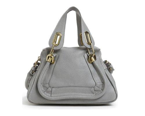Chloé Paraty Handtasche in Grau