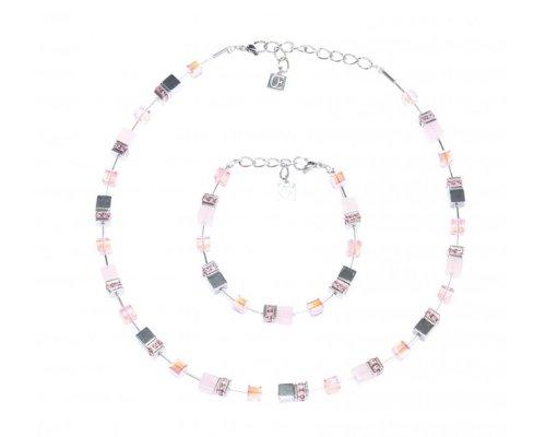 Coeur de Lion Halsketten und Armband im Set