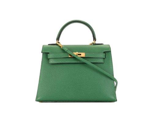 Cognacfarbene Hermès Kelly Handtasche