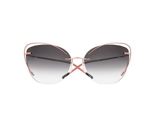 Coole Silhouette Sonnenbrille im Bloggerlook.