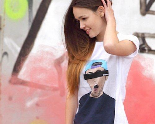 Cooles Print-Shirt von Alife & Kickin.