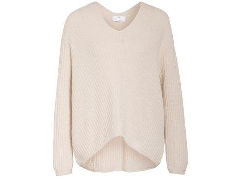 Creme Oversized Pullover  von Allude