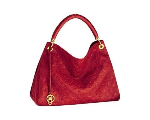 Der geflochtene Henkel der Louis Vuitton Artsy Tasche