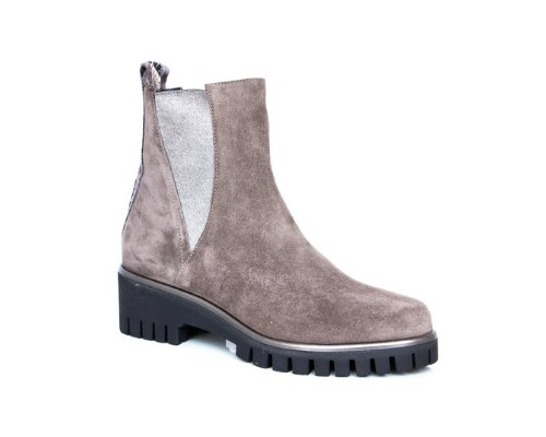 Donna Carolina Ankle Boot in grau-rosa