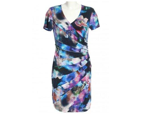 Dresses Unlimited Wickelkleid mit Print