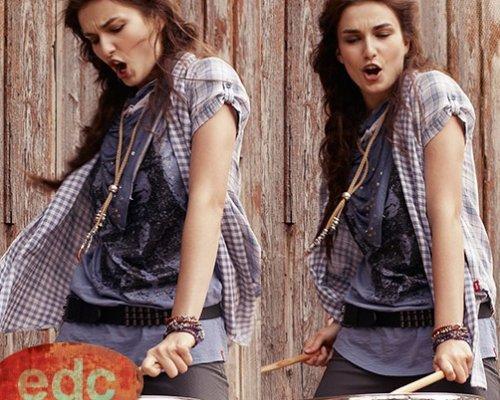 Edc Outfit- rockig, lässig, trendy. (Quelle: PR)