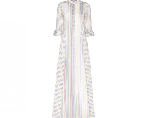Ein lockeres Kleid im Hemdlook von Amaryllis für einen stylischen Sommer