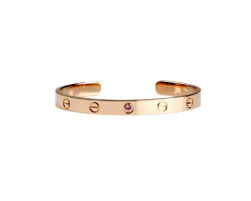 Ein zeitloses Liebesbekenntnis: Das Love-Bracelet von Cartier.