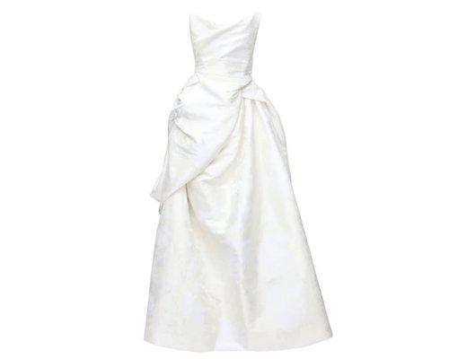 Eines der zahlreichen Brautkleider: Vivienne Westwood Kreation