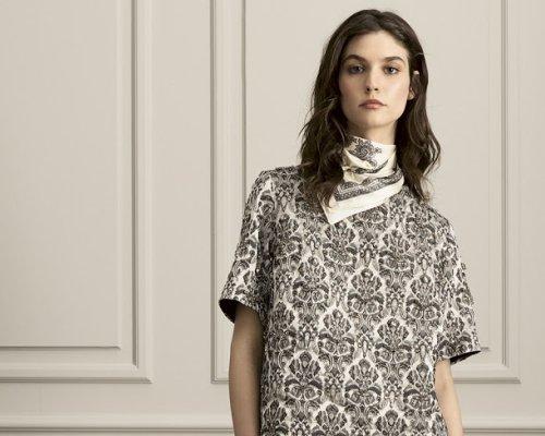 Elegante, gemusterte Bluse von Day Birger & Mikkelsen (Quelle PR)