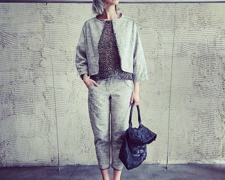 Elegantes Zweiteiler Outfit von Annette Görtz