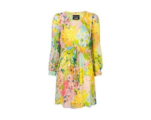 Flowerprint Kleid im Hippie Chic von Boutique Moschino