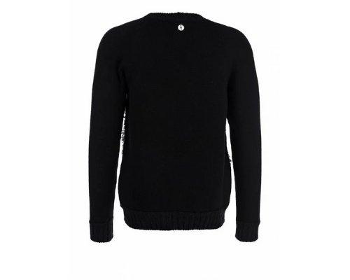 Frankie Morello Sweater in Schwarz