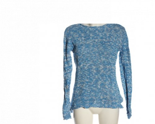 Fry Day Pullover in Blau