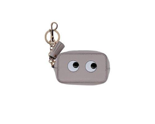 Gelber Smiley Schlüsselanhänger von Anya Hindmarch.
