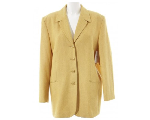 Gelber Vintage-Blazer von Laura Lebek