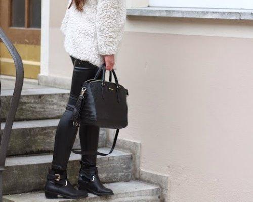 GÖRTZ trendy Chelsea-Boots, schick mit Disco-Pants kombiniert