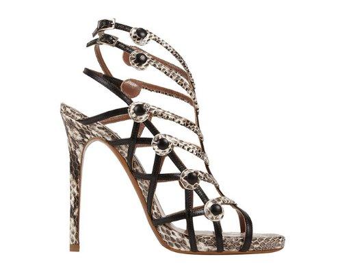 Goldene High Heels von Tabitha Simmons