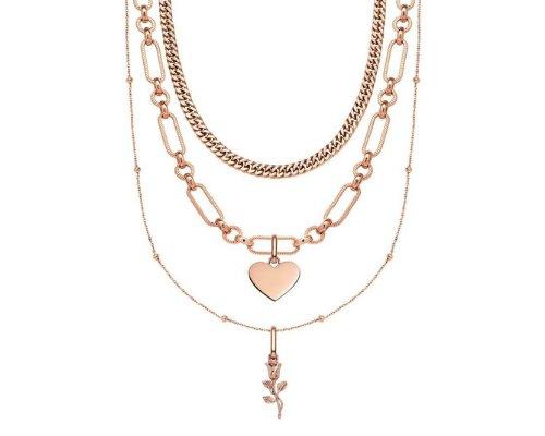 Halsketten in Rosé von Abbott Lyon
