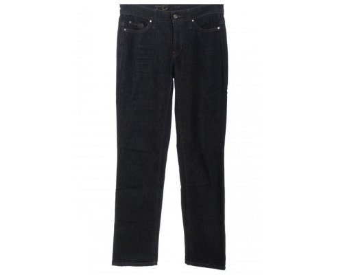 Helle Cambio Norah Straight Leg Jeans mit schwarzen Adidas Gazelle Sneakern
