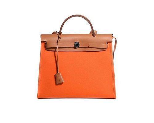 Hermès Herbag als Zip Tasche