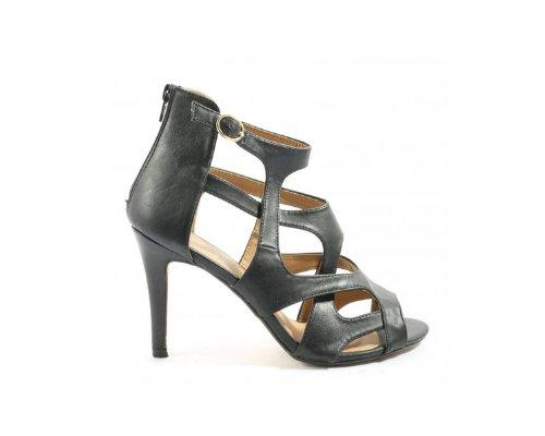 Schwarze Riemchen-Sandaletten von Kayla