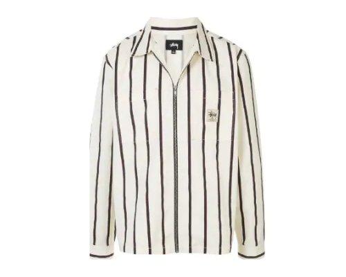 Holzfällerhemd als Oversized Bluse in Schwarz-weiß mit roter Mütze von Dope