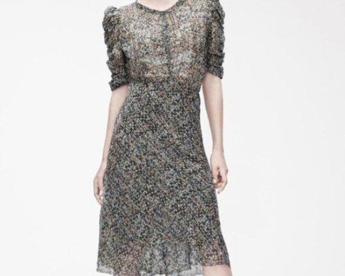 Isabel Marant pour H&M Seidenkleid