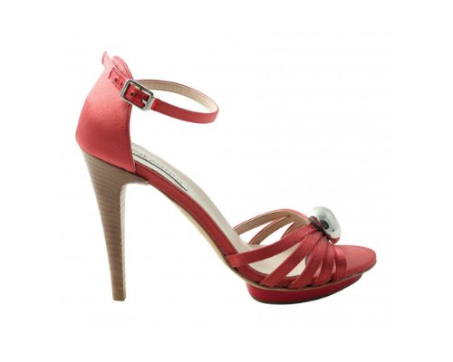 Jeannot High Heels in Rote